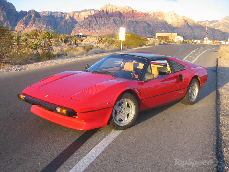 magnum pi ferrari 308 gts la ferrari de magnum. Black Bedroom Furniture Sets. Home Design Ideas
